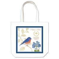 Alice's Cottage Bluebird Large Tote