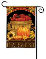 Magnet Works Harvest Basket Garden Flag