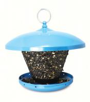 Pinebush Blue Domed Roof Bird Feeder