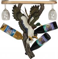 Rivers Edge Products Mallard Wine Shelf Holder