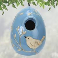 Coyne's Company Blue Bird Egg Birdhouse