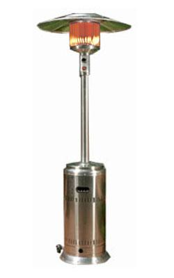 Fire Sense 46,000 BTU Commercial 304 Stainless Steel Patio Heater