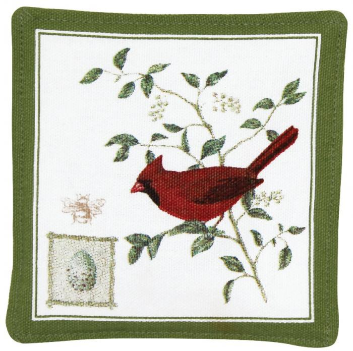 Alice's Cottage Cardinal Single Mug Mat