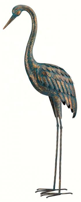 Regal Art & Gift Patina Crane 55 inch