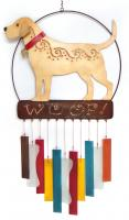 Blue HandWorks Lab Woof Wind Chime