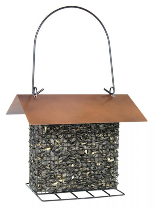 Pinebush Copper Seed and Peanut Feeder