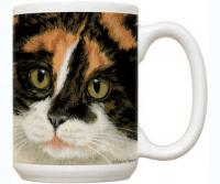 Fiddler's Elbow Calico Cat 15 oz Mug