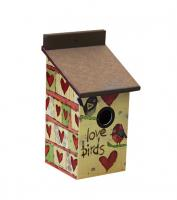 Magnet Works Love Birds Birdhouse