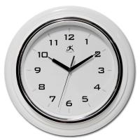Infinity White Deluxe Wall Clock