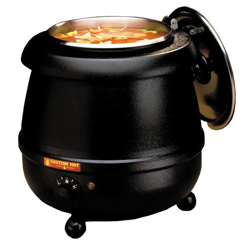 Tomlinson Glenray 10.5 qt. Soup Warming Kettle, Black