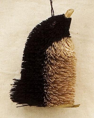 Brushart Penguin Ornament