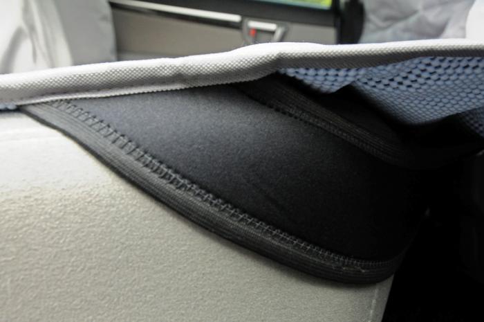 PetEgo Hammock Back Seat Protector Grey Color