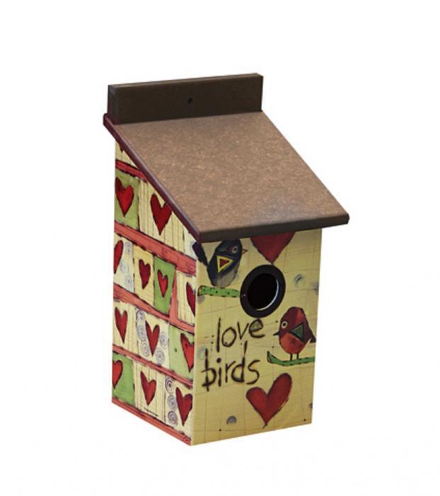 Magnet Works Love Birds Birdhouse ( (+FRT)
