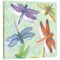 Tree Free Greetings Dragonflies Art Plaque