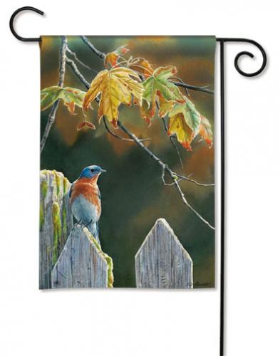 Magnet Works Garden Gate BlueBird Garden Flag