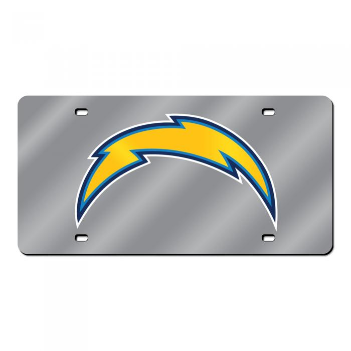 San Diego Chargers Cuts: San Diego Chargers NFL Laser Cut License Plate Cover