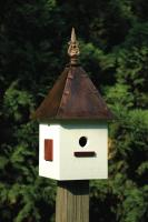 Heartwood Songbird Suite Birdhouse, White