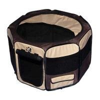"Pet Gear Travel Lite Soft-Sided Pet Pen with Removable Top Sahara 46"" x 46"" x 28"""