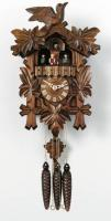 "River City 14"" Five Leaves, One Bird Cuckoo Clock"