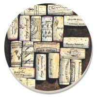Counter Art Wine Corks Coasters, Set of 4
