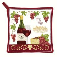 Alice's Cottage Vin Rouge Potholder