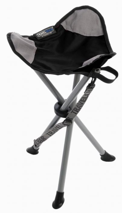 Travel Chair Slacker Stool, Black