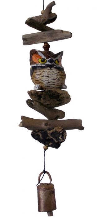 Cohasset Imports Petite Barn Owl Bell