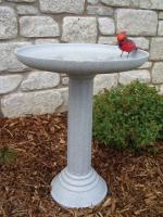 Birds Choice KozyBird Spa Heated Bird Bath with Pedestal