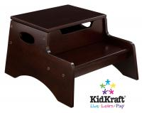 Kid Kraft Step 'N Store - Espresso