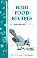 Workman Publishing Bird Food Recipes