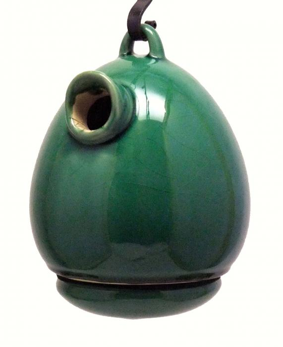 Byer of Maine Egg Birdhouse Meadow Green