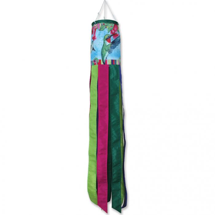 Premier Designs Hummingbirds with Paisley Windsock