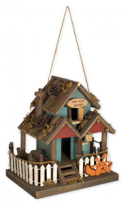 Sunset Vista Designs Lake Front Cottage Birdhouse