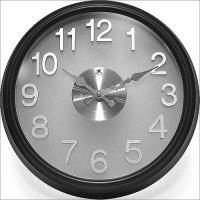 Infinity The Onyx Black Wall Clock