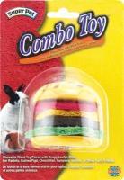 Combo Toy Crispy & Wood Burger