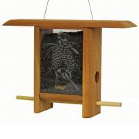 Schrodt Chickadee Pine Cone Teahouse Bird Feeder