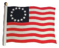 "30"" Liberty Flag Weathervane - Rooftop Color"