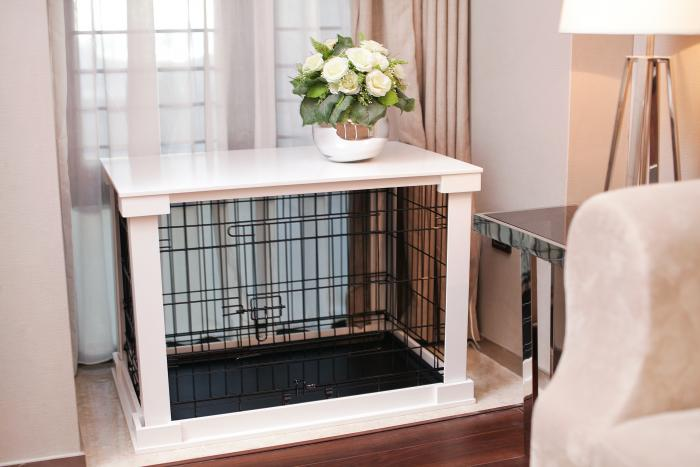 Cage with Crate Cover, Large