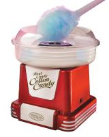 Nostalgia Electrics PCM-805RETRORED Retro Series Hard & Sugar-Free Candy Cotton Candy Maker