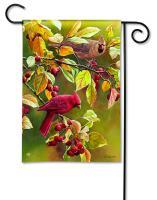 Magnet Works Cardinal Afternoon Garden Flag