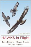Peterson Books Hawks in Flight 2nd Edition