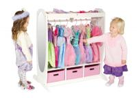 Guidecraft Dress Up Storage White