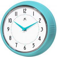 Infinity Retro Turquoise Wall Clock