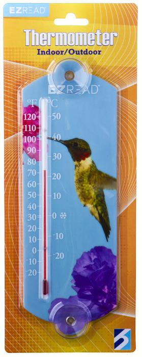 Headwind Hummingbird Window Thermometer