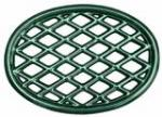 John Wright Company Trivet - Green Majolica Lattice