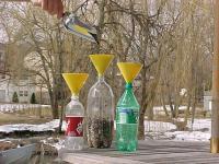 FitPop Yellow Birdseed Funnel