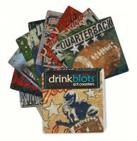 Magnet Works Football Coasters
