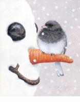 Songbird Essentials Flag Garden, Nosey Junco