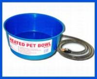 Farm Innovators Round Heated Pet Bowl
