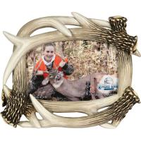 "Rivers Edge Products 4""x6"" Antler Picture Frame"